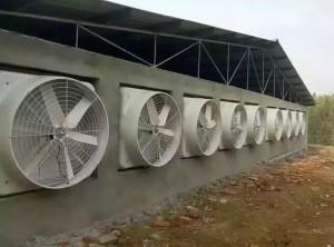 风机安装现场